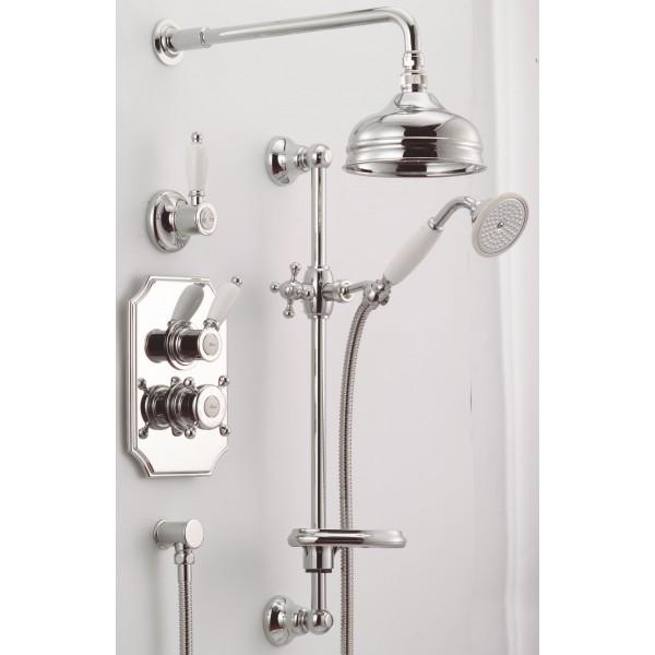 Ensemble thermostatique douche huber gamme victorian mondial robinet - Ensemble douche thermostatique ...