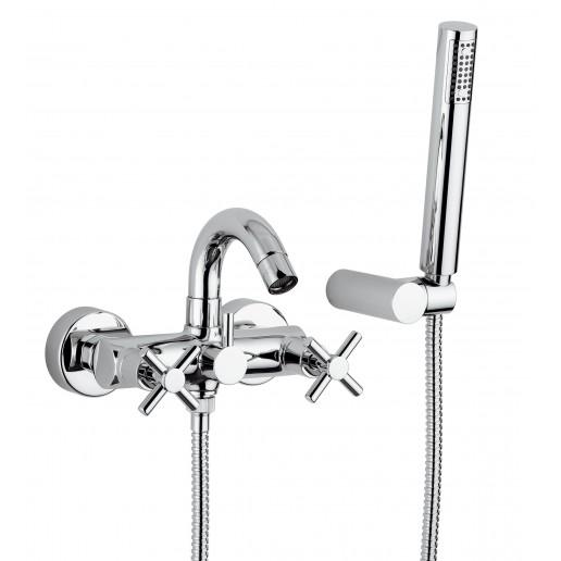 Mélangeur avec douchette pour baignoire Gioira & Redi gamme Smart