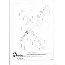 piece detachee Huber compatible gamme Kyoto