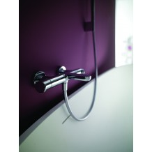Ensemble Thermostatique Bain/Douche Mural - safe touch Huber gamme Levity