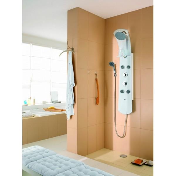 colonne de douche valentin gamme nautilus verre mondial robinet. Black Bedroom Furniture Sets. Home Design Ideas