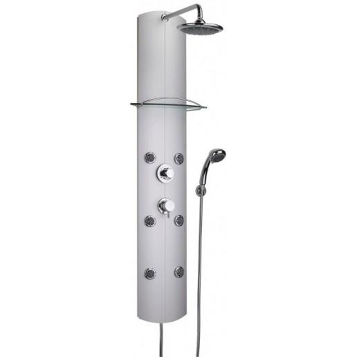 colonne de douche jets lateraux valentin gamme totem thermostatique mondial robinet. Black Bedroom Furniture Sets. Home Design Ideas