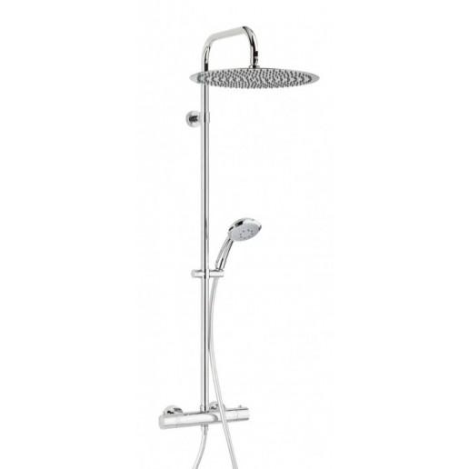 colonne de douche valentin gamme elle et lui dome de pluie. Black Bedroom Furniture Sets. Home Design Ideas