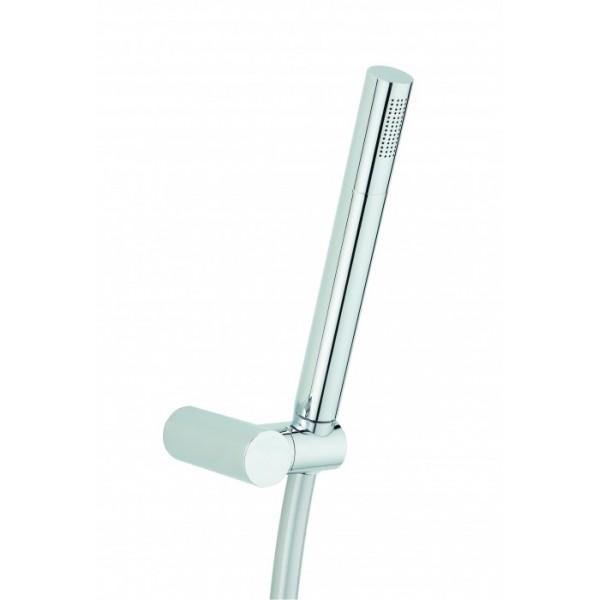 kit de douche design valentin tube laiton mondial robinet. Black Bedroom Furniture Sets. Home Design Ideas